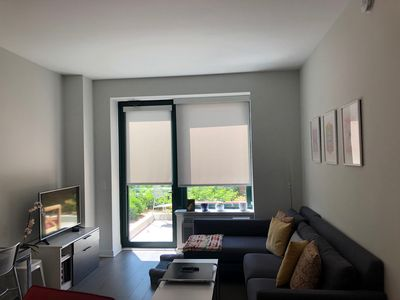 Photo for 1 bedroom 1 bath downtown jersey city 1 stop from Manhattan/NYC!