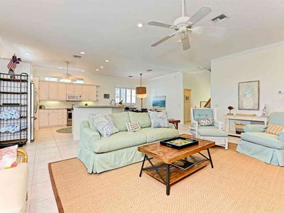 Photo for Dog-friendly home w/ private pool - blocks from the beach - near shopping/dining