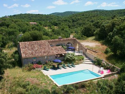 Photo for Sheepfold in Languedoc with a private pool