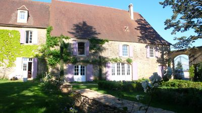 Photo for Mansion in the heart of Black Perigord with its private pool