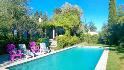 Photo for Charming villa, Western edge of Grasse, private property in a quiet area