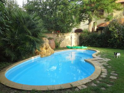 Photo for Lovely house with garden and Pool near the beach Rimigliano and thermal baths