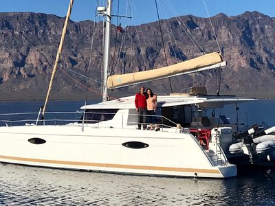 Photo for Beautiful Catamaran in the Sea of Cortez