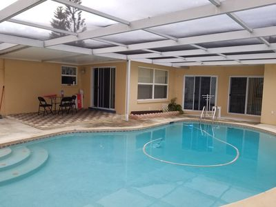 Photo for My house has3 bdr, 2.5 bath with outdoor pool; it has a hot tub for you to enjoy