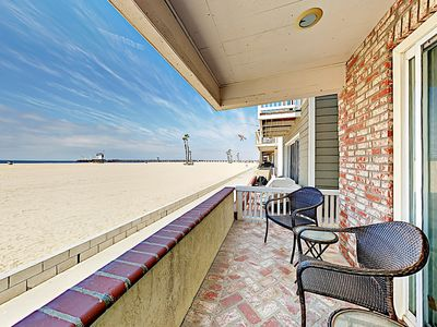Photo for Prime Oceanfront Location! Contemporary Seal Beach 3BR on the Strand