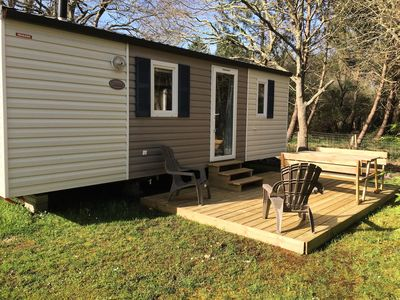 Photo for 2BR Mobile Home Vacation Rental in Vendays-Montalivet