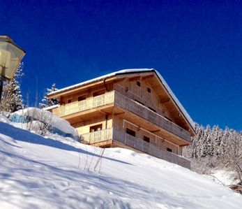 Photo for CHALET MERIBEL 4 * GD COMFORT 160M2 10 PERS. SUNDAY RESERVATION POSSIBLE