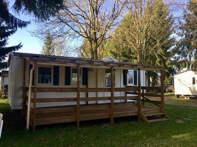 Photo for Mobile home with air conditioning C33 for 6 people near EUROPA PARK