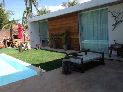 Photo for Charming house in the beach of Angra de Ipioca (Hibiscus) - Maceió-AL