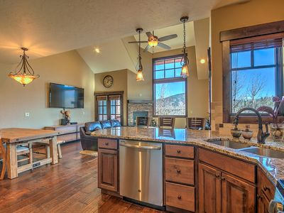 Photo for Townhome with 5-Star Finishings. Minutes from World Class Ski Resorts, sleeps 12