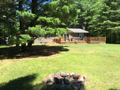 Photo for Nearly brand new lake home on Eagle River Chain of Lakes