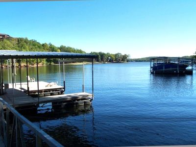 Photo for Lakefront 3BR Home with Private Dock in Tan Tar-a Estates