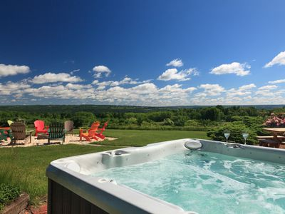Photo for Private Home, Amazing Views, Hiking & Biking, Wine Tasting, Hot Tub and Fire Pit