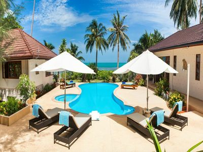 Photo for 5 Bedroom Beach Front Villa Sea Breeze
