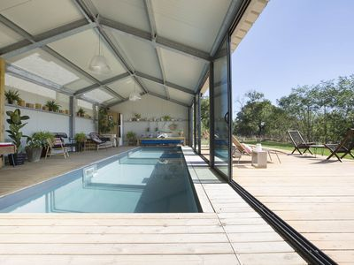 Photo for Design and nature rental with indoor pool 17 km from Les Sables d'Olonne
