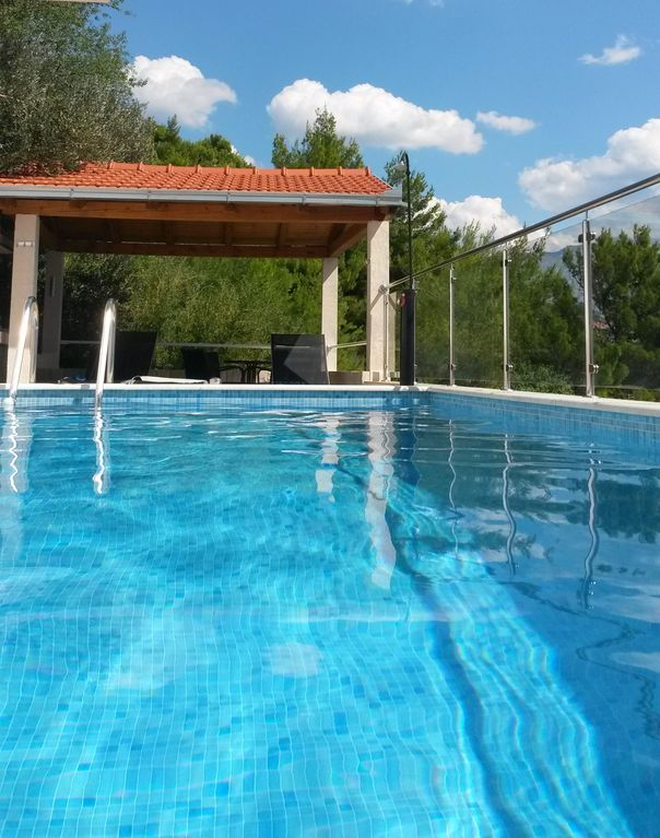 Private oasis for up to 8 people with swimming pool, sea view & 2 beaches  nearby - Marušici