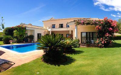 Photo for Super Luxury Villa with Large Private Heated Pool, Great Views of Golf Course