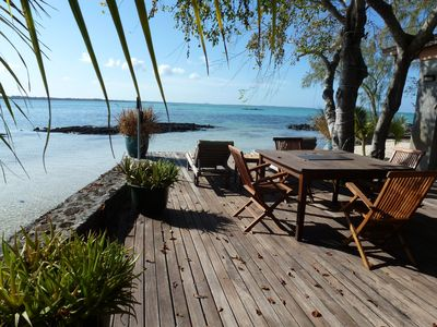 Photo for L'Ilot – luxury villa on a private islet in Roches Noires