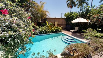 Photo for PINEAPPLE COTTAGE: 2BR/2BA-Pvt Pool -1/2 block to Duval
