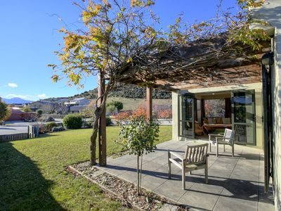 Photo for Delightful home at the foot of Mount Iron | Sunny outdoor living | No stairs!