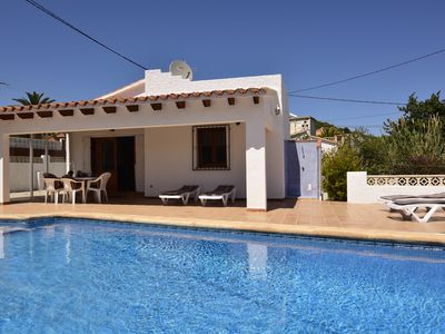 Photo for Villa with private pool, sea views, terrace 4-6 people