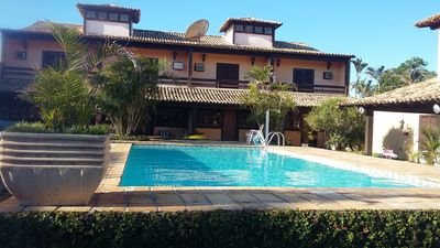 Photo for Beautiful condo in Geriba, house 180 m2, swimming pool, sauna, all 100m from the beach