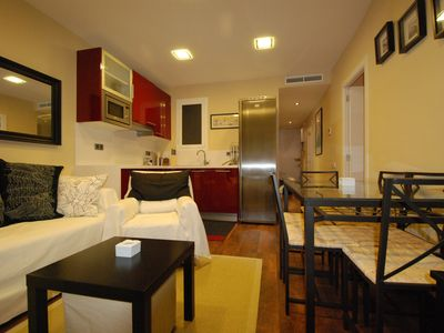 Photo for Cozy & Renovated 2BR   In The Heart of BCN   20m Ramblas Walking Distance Parking