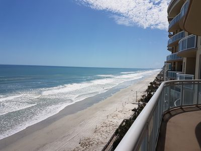 Photo for Affordable Luxury, Direct Ocean Front Condo 3Bed/3Bath.Views of the Entire Beach