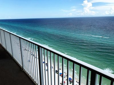 Photo for Luxury Ocean Front Condo w/ Awesome Reviews, Huge Balcony and Free Beach Service