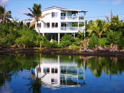 Coral Pool House oceanfront Big Island home: 2 bedrooms, 2 1/2 baths, sleeps 6
