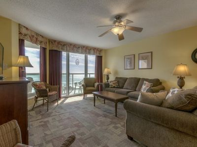 Photo for Malibu Pointe -  506 4 bedroom, oceanview condo!