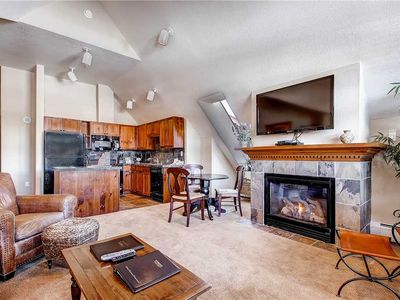 Photo for Walk to town from this condo, outdoor heated pool & hot tubs