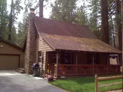 """Photo for """"Naughty but Nice"""" - Knotty-Pine Cabin in the Pines"""