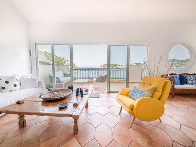 Photo for Luxurious first line apartment in Puerto de Sóller