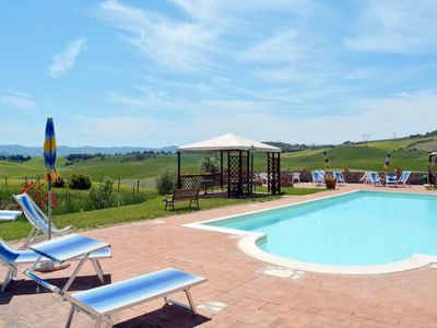 Photo for Apartment Podere Jacopo (MVC274) in Montecatini Val di Cecina - 4 persons, 2 bedrooms