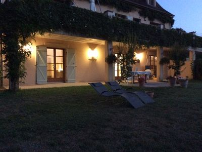 Photo for Family friendly gite, two en-suite bedrooms, peaceful location.