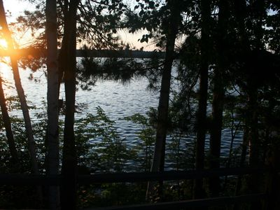 Photo for Bruin's Retreat - Little Star of the Manitowish Chain of Lakes