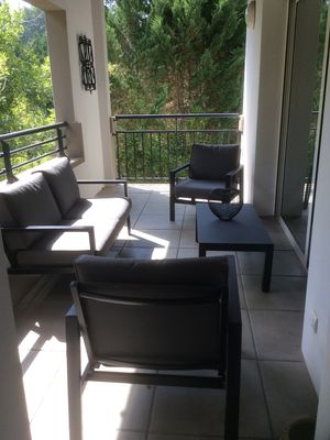 Photo for Charming apartment in lush greenery, classified 3 stars tourism