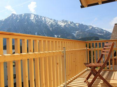 Photo for Penthouse apartment with private sauna, directly at the lift