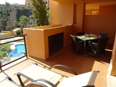 Photo for Modern apart. A / C in all rooms, calm and sumptuous property with 6 pools