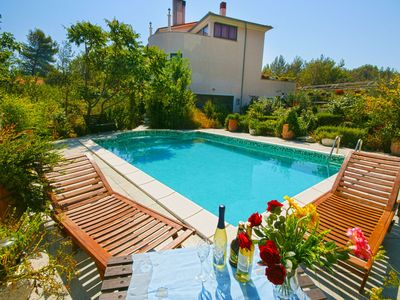 Photo for Beach Cottage, Large Private Pool, Quiet and Secluded