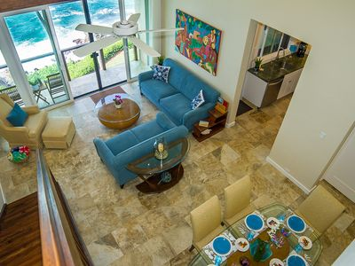 Photo for STUNNING OCEANFRONT 3Bd/3Ba * Poipu's Best View * Air Cond Penthouse Poipu Makai