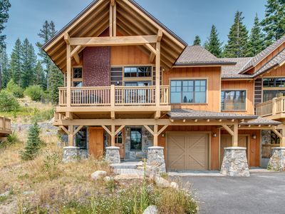 Photo for NEW LISTING! Ski-in/Ski-out cabin w/firepit, shared pool/hot tub & views