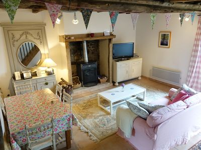 Photo for An exquisite romantic getaway gite, ideal for couples. 10% off  Brittany ferries