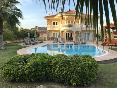 Photo for Large Private Villa with beautiful pool, gardens, and mountain views