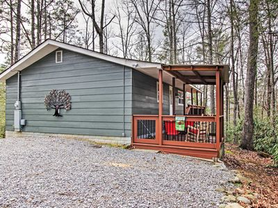 Photo for Cottage w/Deck-4 Miles to Great Smoky Mountains!