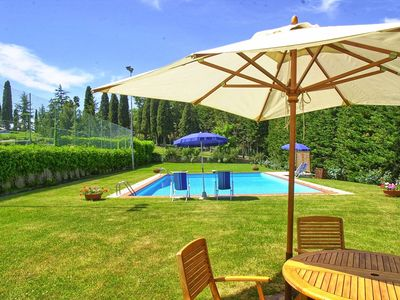 Photo for Beautiful private villa for 12 guests with private pool, WIFI, TV, panoramic view and parking