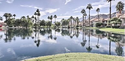 Photo for Beautiful Lakeside Condo in Gated PGA West-Close to golf, tennis, polo