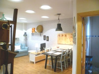 Photo for Apartment in center with free private parking.