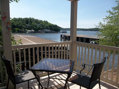 Photo for MUST SEE!! Very Close to Water's Edge & Docks! King Bed. Smaller Complex
